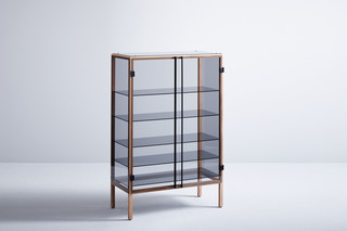 Shade showcase cabinet  by  Böwer