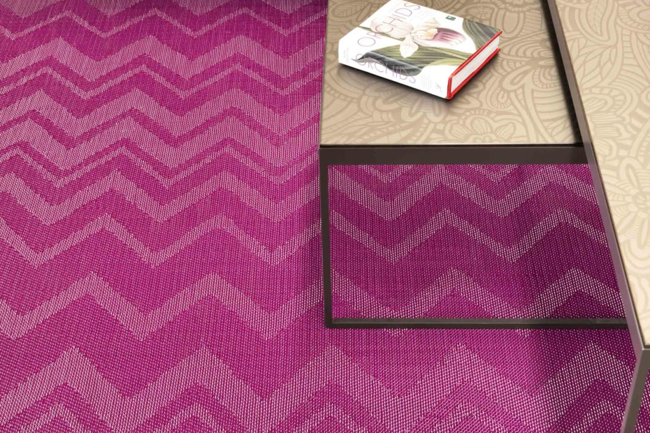 Bolon By Missoni Zigzag Aubergine