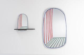 New Perspective Mirror  by  Bonaldo