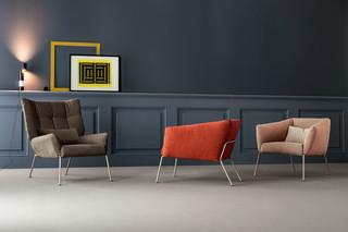 Nikos armchair  by  Bonaldo