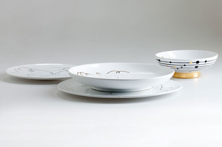 Table Collection set of plates  by  Bosa