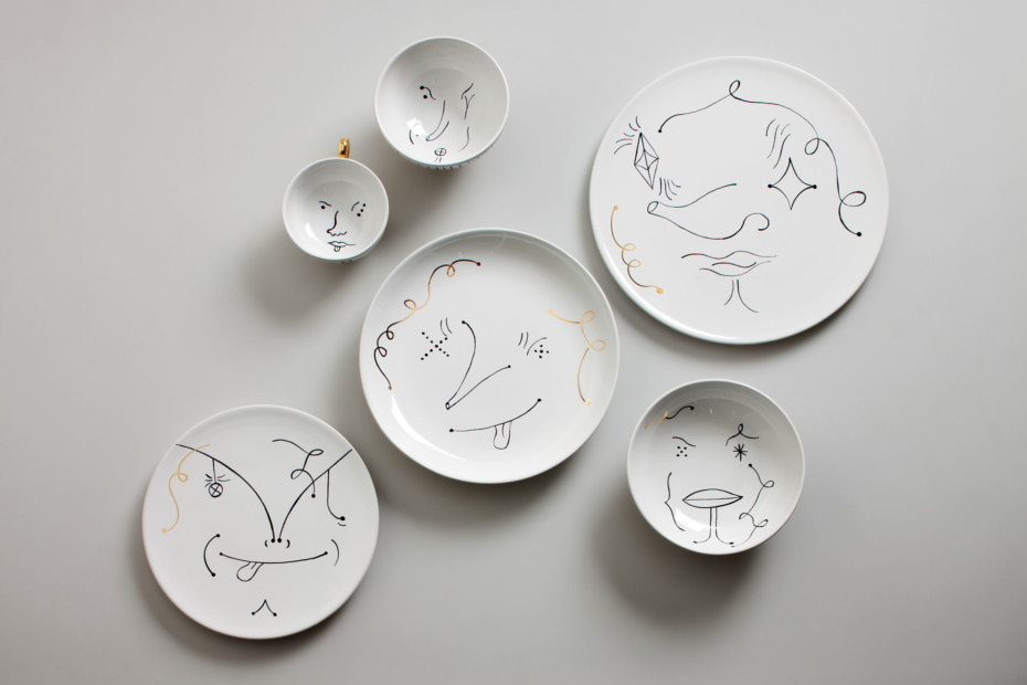 Table Collection set of plates