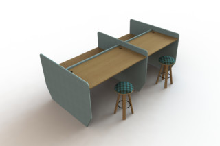 BuzziVille Desk  by  BuzziSpace