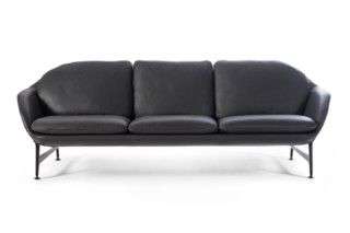 Vico 3-seater leather  by  Cassina