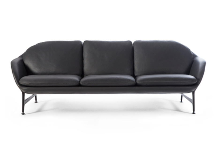 Vico 3-Sitzer Leder