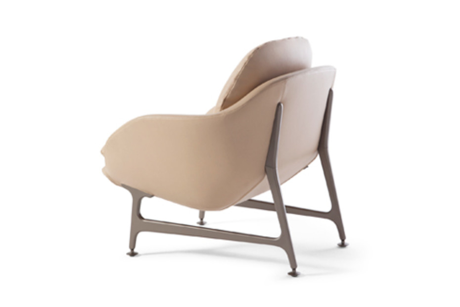 Vico armchair leather