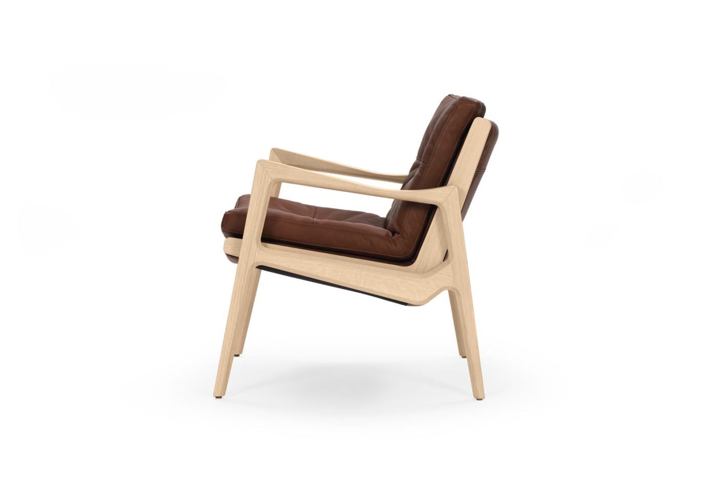 Euvira Lounge Chair Leather By Classicon Stylepark