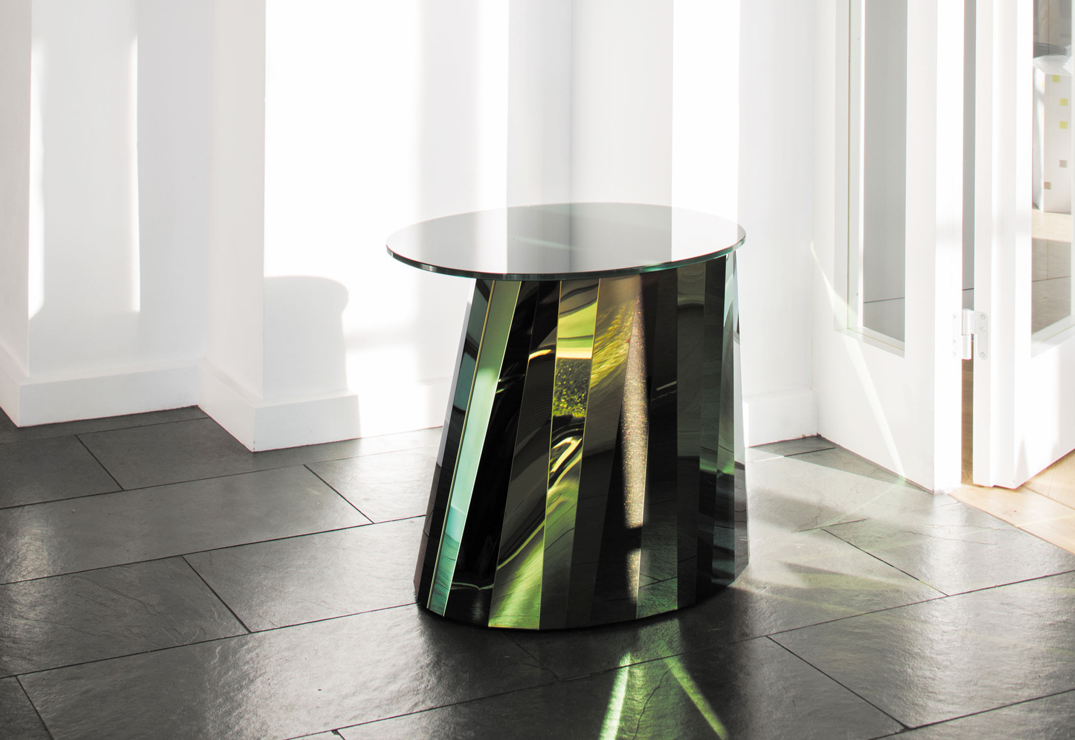 at home furniture pli side table by classicon stylepark 10129