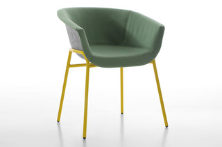 CHAIRMAN chair metal  by  conmoto