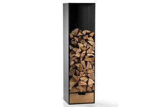 COVO firewood shelf  by  conmoto