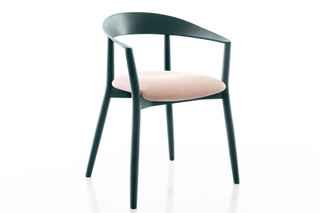 MITO chair with seat upholstery  by  conmoto