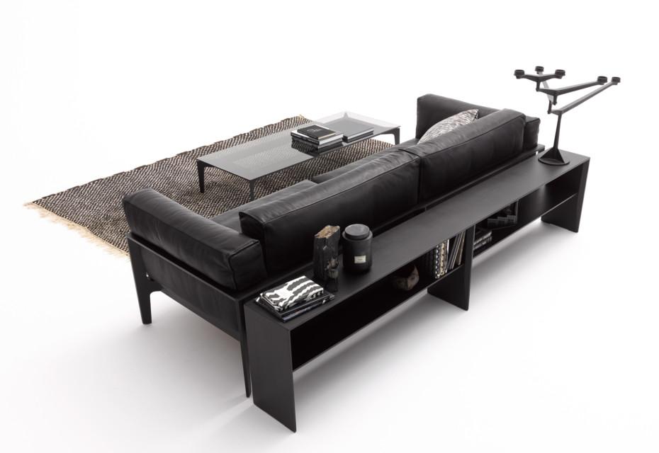 Elm sofa shelf