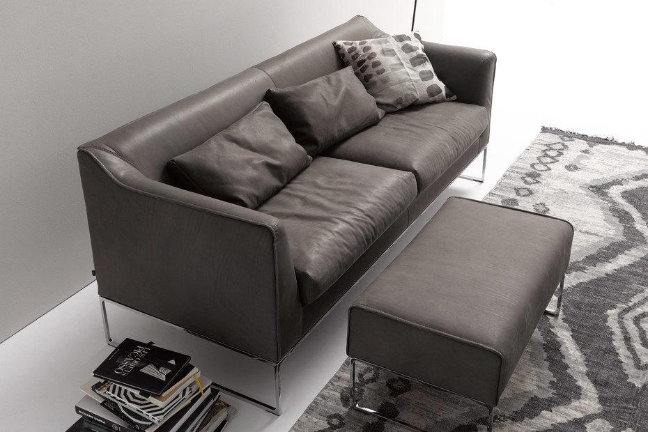 Mell sofa high back