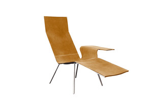 Leather Long Chair  by  De Padova