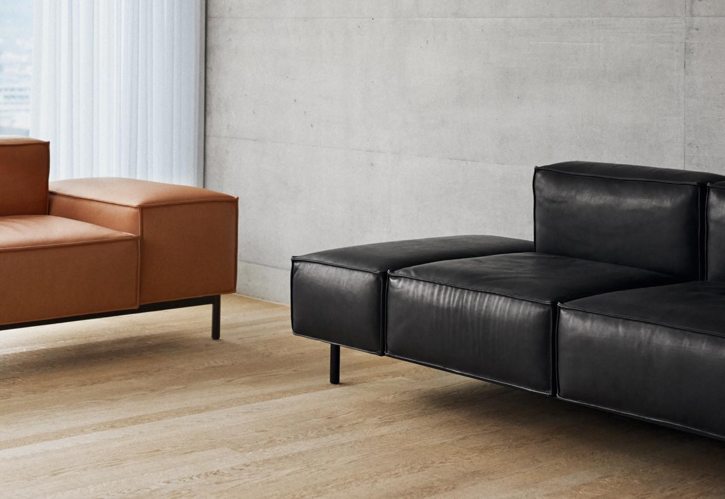 ds 21 sofa von de sede stylepark. Black Bedroom Furniture Sets. Home Design Ideas