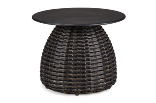 PORCINI side table Ø51  by  DEDON