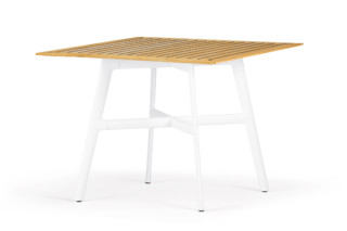 Seax dining table square  by  DEDON
