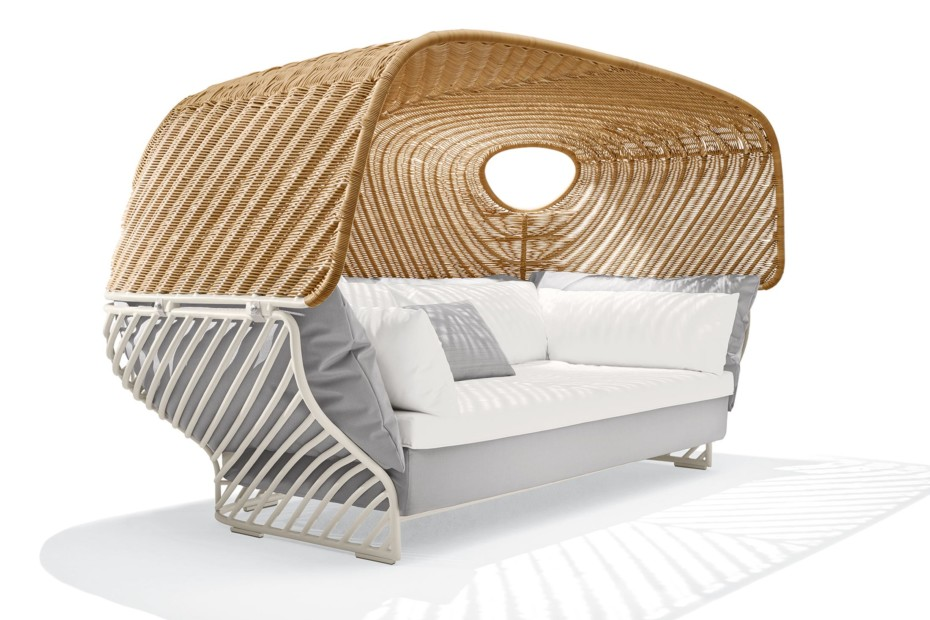 Tigmi Sofa With Roof By Dedon Stylepark