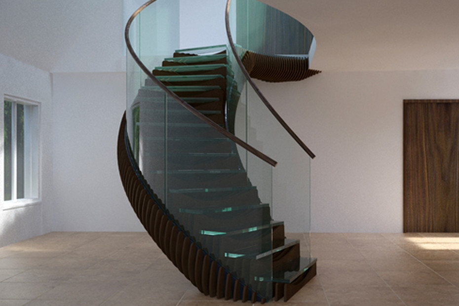 Slice staircase