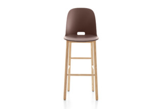 Alfi bar stool high back  by  Emeco