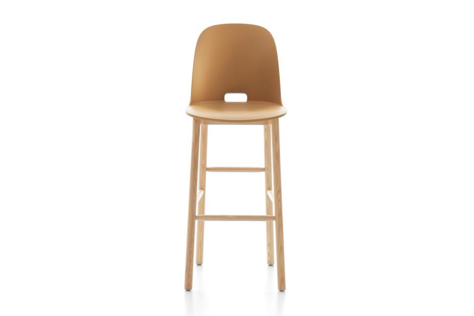 Alfi bar stool high back