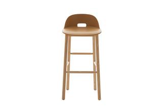 Alfi bar stool low back  by  Emeco