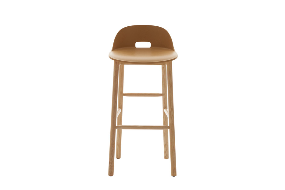 Alfi bar stool low back