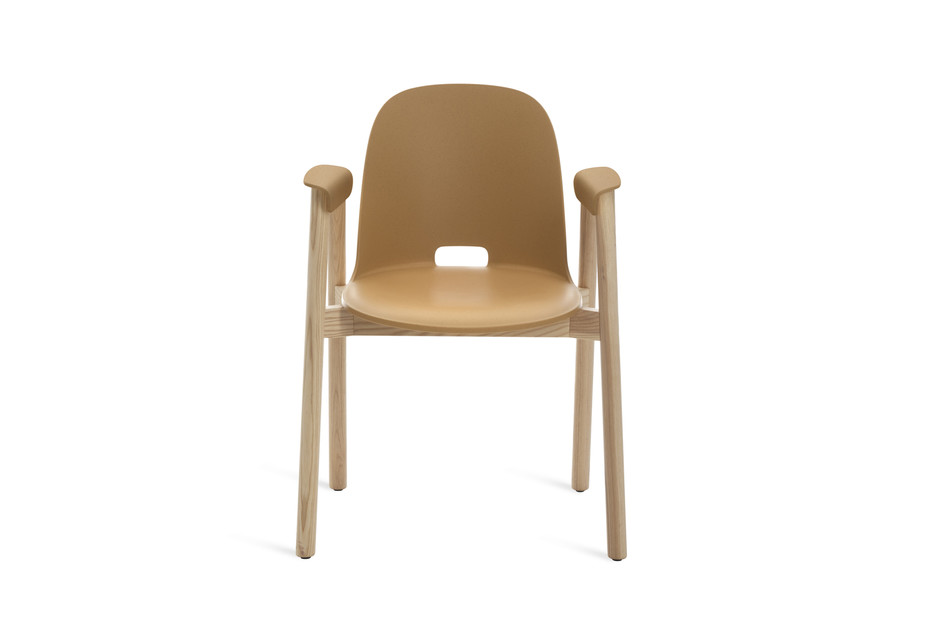 Alfi chair with armrests