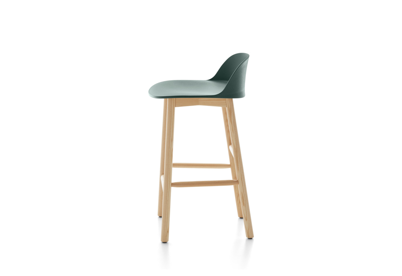 Alfi counter stool low back - Alfi Counter Stool Low Back By Emeco STYLEPARK