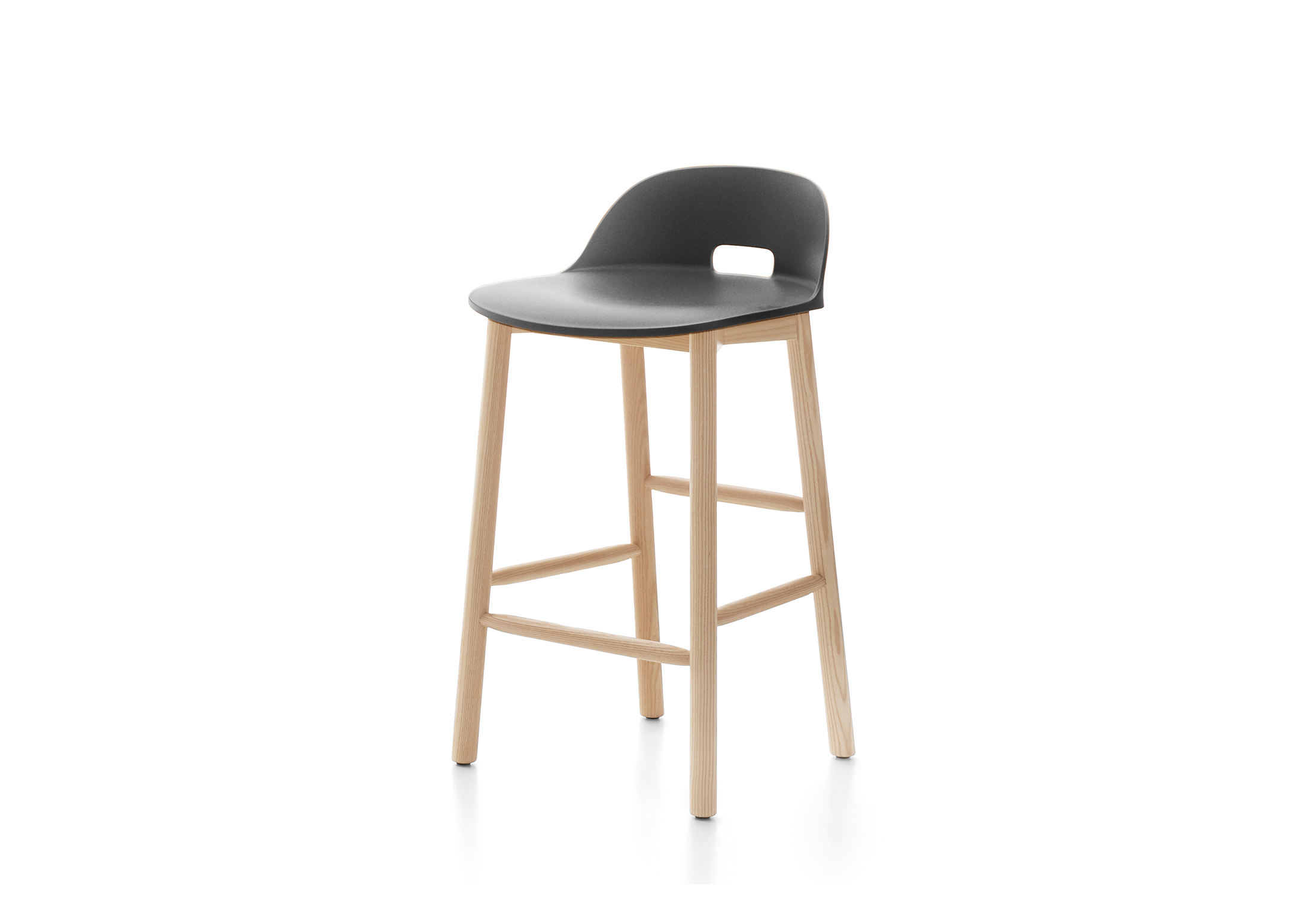 low back bar stool alfi counter stool low back by emeco stylepark 7184