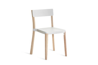 Lancaster chair White light Ash  by  Emeco