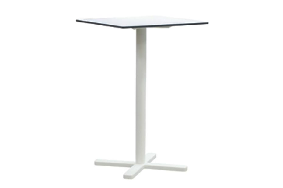 Darwin High folding square table