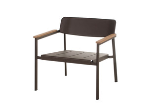 Shine lounge chair  by  Emu