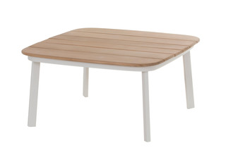 Shine table with teak top  by  Emu