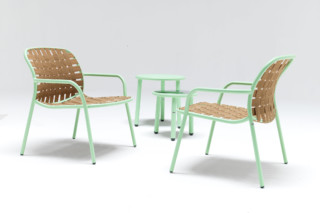 Yard low armchair  by  Emu