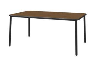 Yard Tisch mit Holzplatte  von  Emu