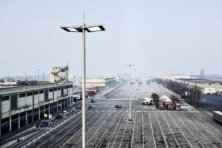 Port terminal Molo di Ponente, Venice  by  ewo