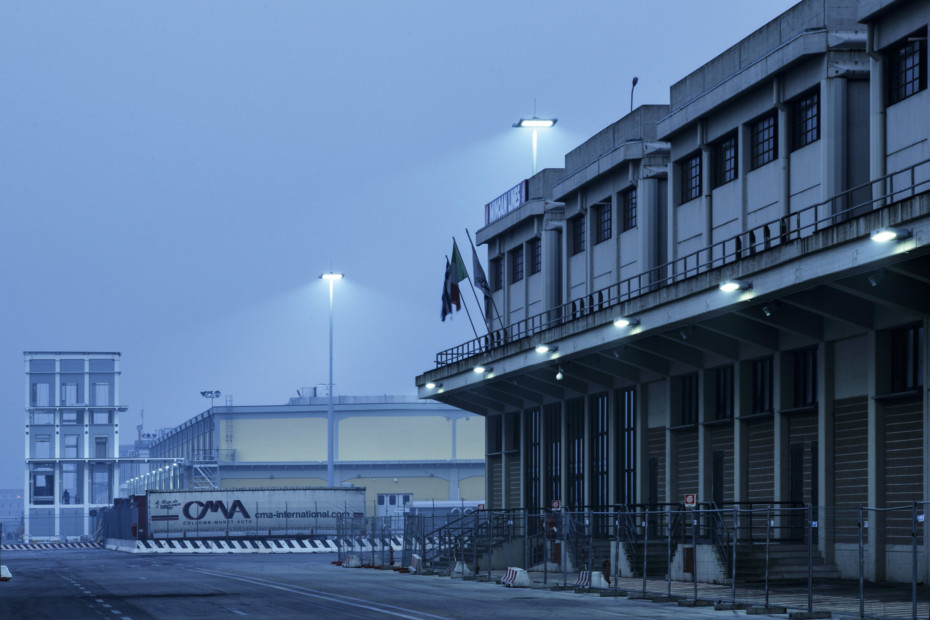 Hafenterminal Molo di Ponente, Venedig