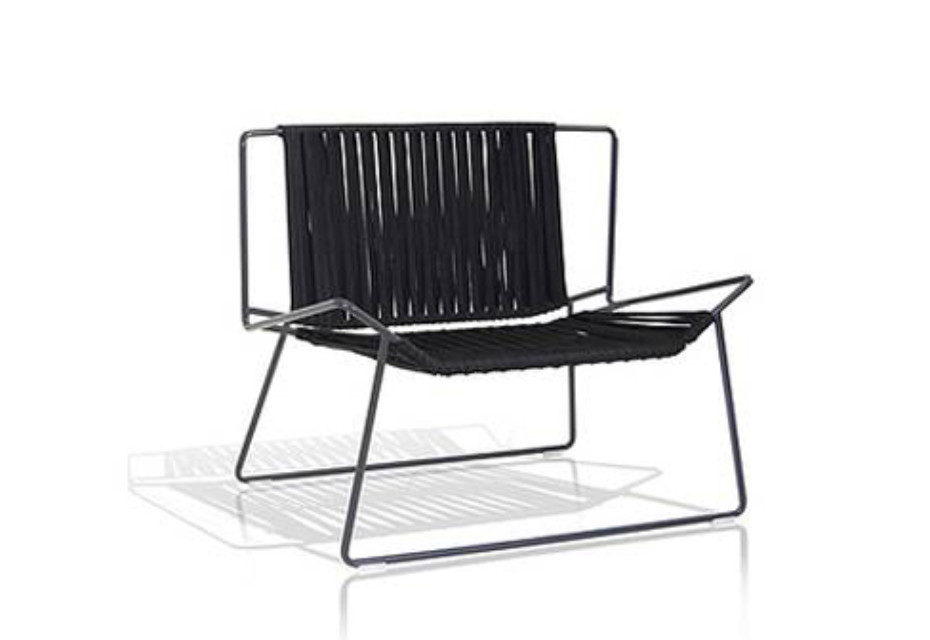 Out_Line Hand-woven armchair C551T
