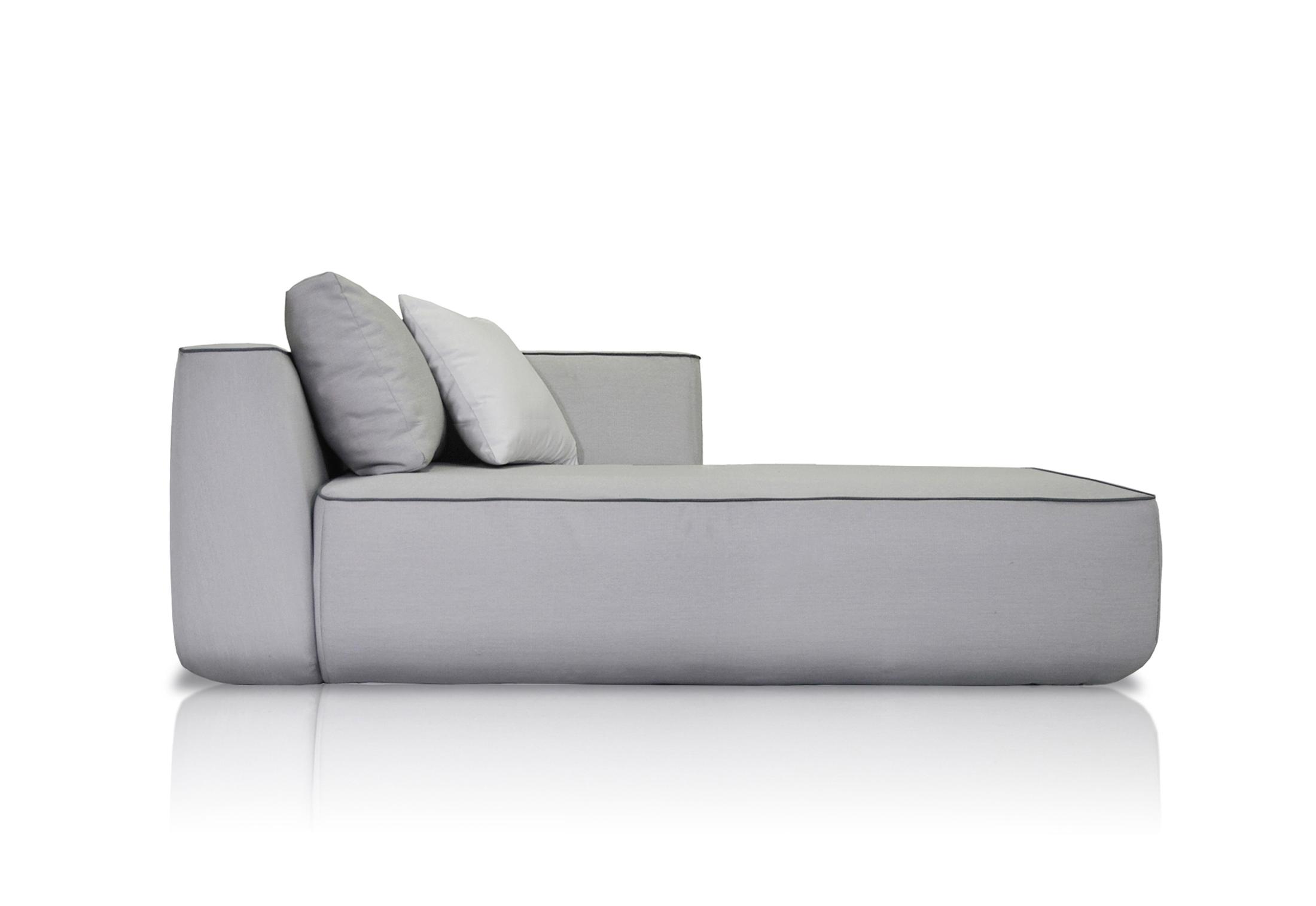 Plump right chaise longue module by expormim stylepark for Chaise longue divani e divani