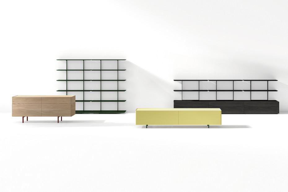 Team TV-Möbel mit 2 Schubladen
