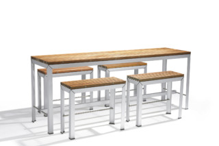 Extempore extra high table  by  Extremis