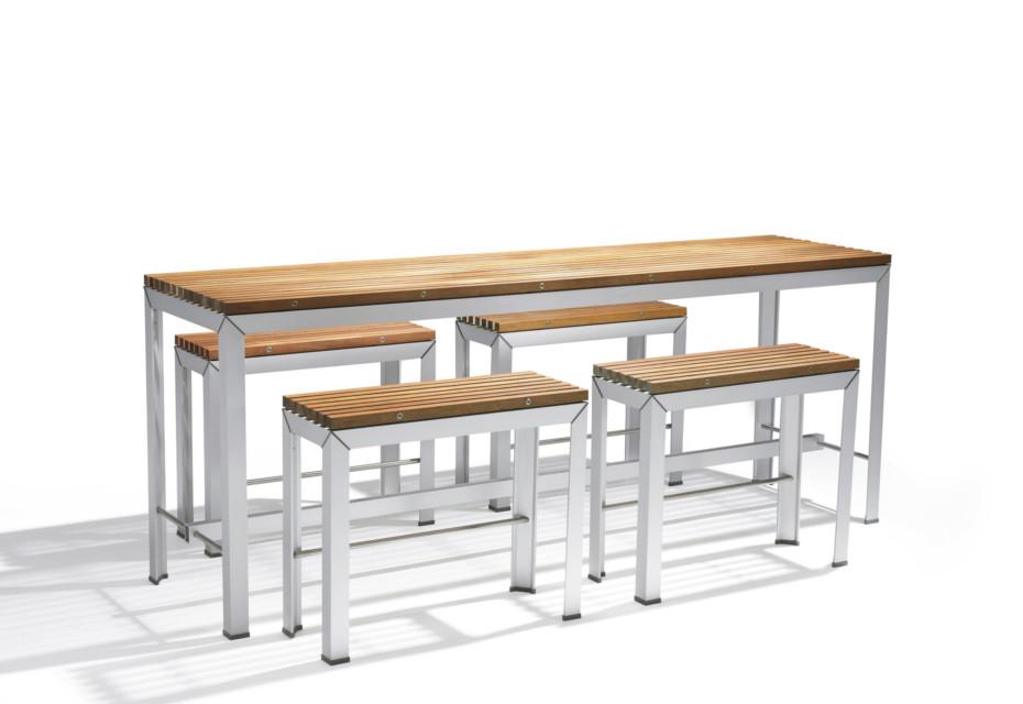 Extempore Tisch hoch