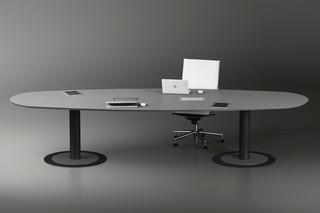 TR meeting tables  by  Fantoni
