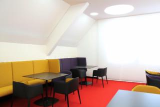 Kreissparkasse Waiblingen cafeteria  by  FINDEISEN