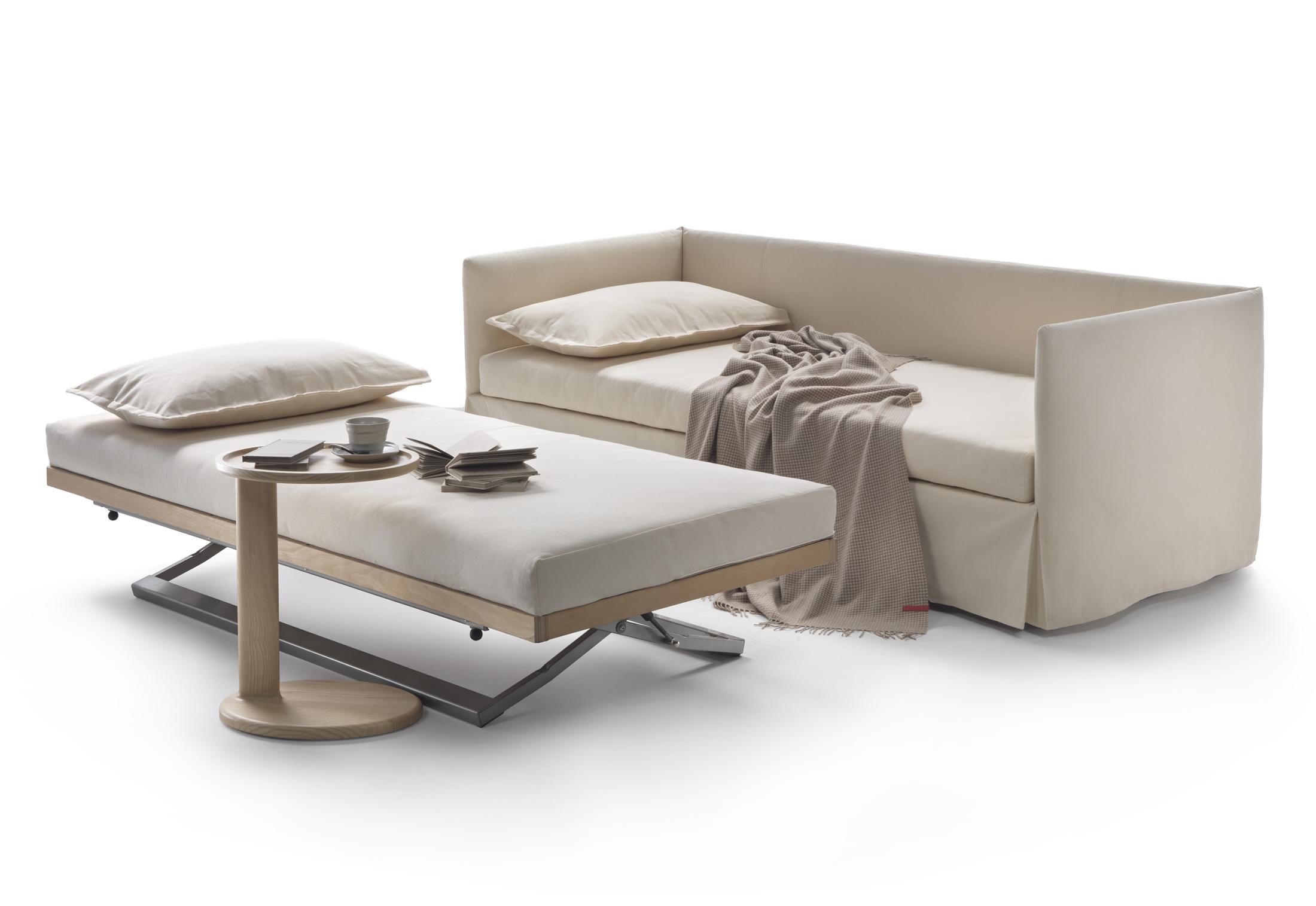 Twins bettsofa von flexform stylepark for Futon cama dos plazas