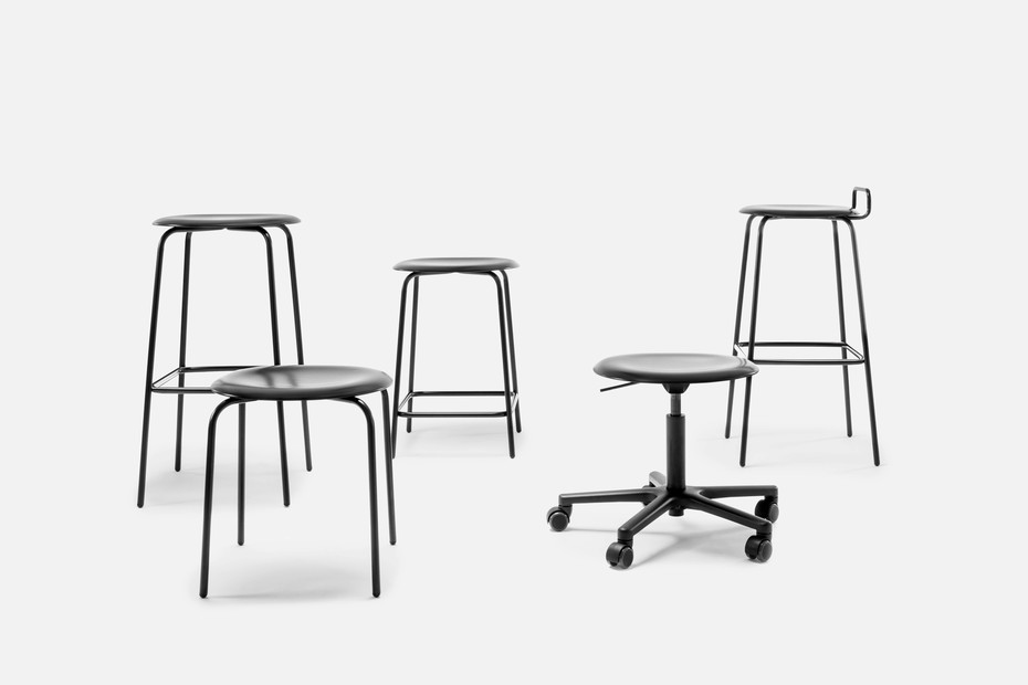 PRO STOOL four-legged frame high
