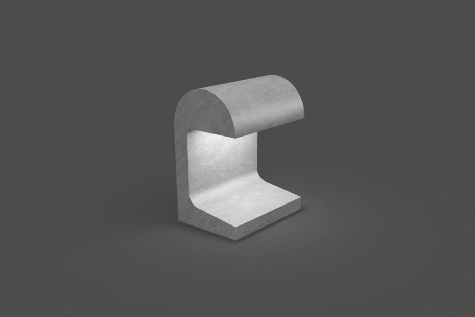 Casting semicircle shape