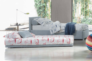 Biss A double bed  by  FLOU
