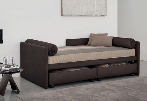 Sofa Bed With Drawers Duetto With Storage Drawers By Flou Stylepark |  Decorate My House